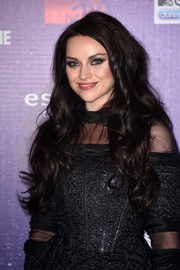Amy Macdonald sported lush, flowing waves during the MTV EMAs.