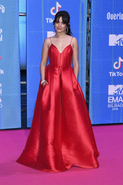 Camila Cabello looked breathtaking in a bright red princess gown by Alex Perry at the 2018 MTV EMAs.