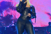 Bebe Rexha Leather Pants