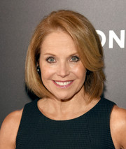 Katie Couric went for a simple and classic bob when she attended the 'Mad Men' special screening.
