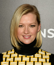 Gretchen Mol looked fab with her perfectly styled bob at the 'Mad Men' special screening.