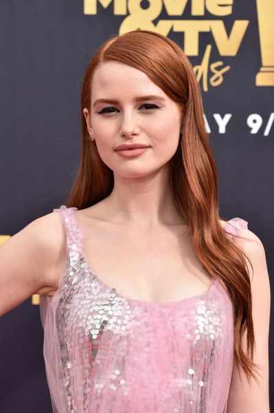 Madelaine Petsch Long Wavy Cut