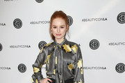 Madelaine Petsch Pussybow Blouse
