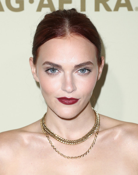 Madeline Brewer Layered Chainlink Necklaces