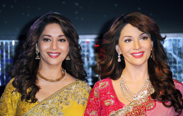 Madhuri Dixit-Nene Long Curls