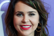 Mae Whitman Red Lipstick