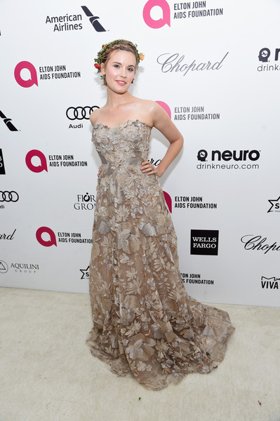 Maggie Grace Strapless Dress