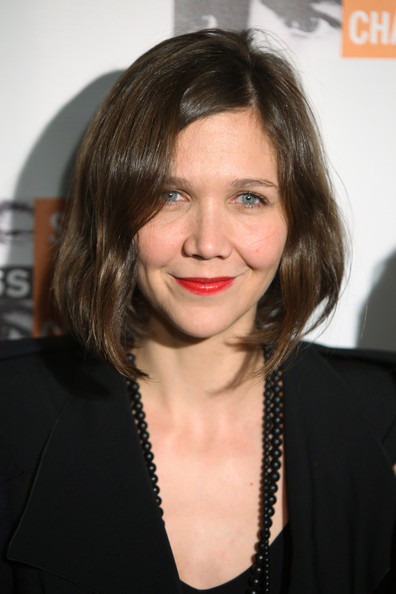 Maggie Gyllenhaal Bob [hair,face,hairstyle,eyebrow,chin,lip,layered hair,blond,forehead,brown hair,new york city,roseland ballroom,6th annual focus for change: benefit dinner,concert,focus for change: benefit dinner and concert,maggie gyllenhaal]