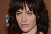 Maggie Siff Medium Curls with Bangs