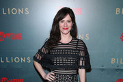 Maggie Siff Studded Heels