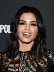 Jenna Dewan-Tatum attended the grand opening of 'Magic Mike Live Las Vegas' wearing her signature shoulder-length waves.