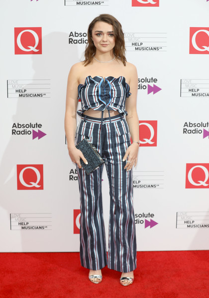 Maisie Williams Print Pants