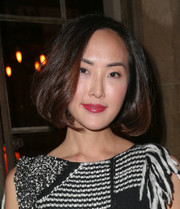 Chriselle Lim looked cute with her bouncy bob at the Maison de Mode dinner.