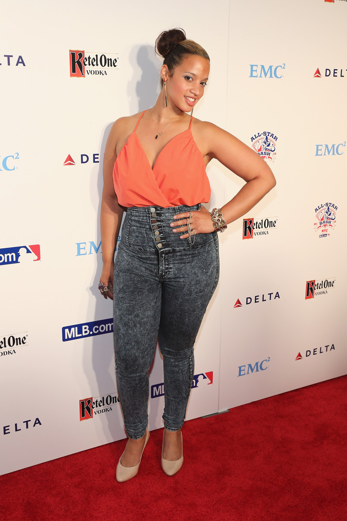 More Pics of Dascha Polanco High-Waisted Jeans (1 of 3 ... Ashlee Simpson Shoes