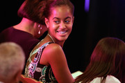 Malia and Sasha Obama Get Into Makeup and Party Dresses