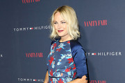 Malin Akerman Print Dress
