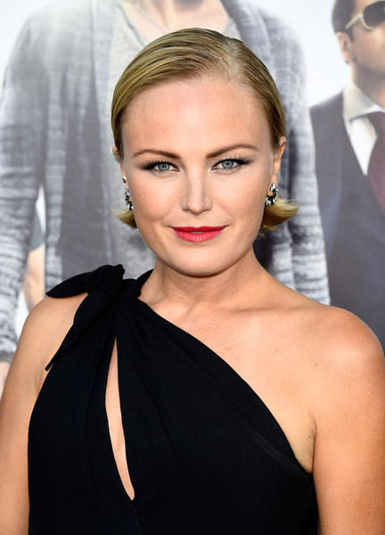 Malin Akerman Short Side Part [hair,face,hairstyle,eyebrow,lip,shoulder,beauty,blond,chin,dress,arrivals,malin akerman,entourage,california,regency village theatre,warner bros. pictures,westwood,premiere,premiere]