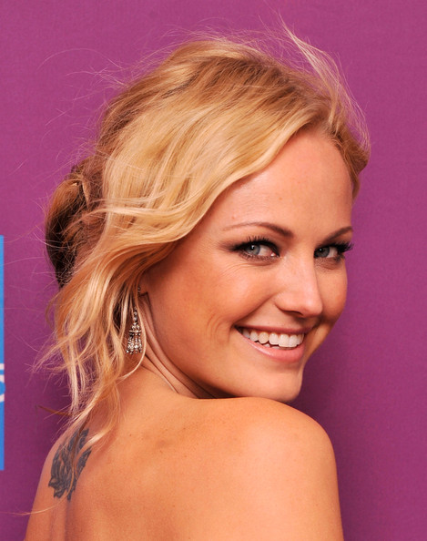Malin Akerman Messy Updo