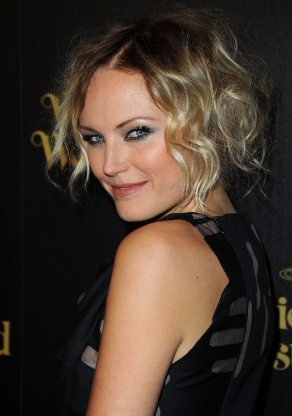 Malin Akerman Pinned Up Ringlets