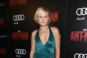 Malin Akerman Wrap Dress