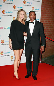 Patrice Evra hit the United for UNICEF red carpet wearing an elegant black tux.