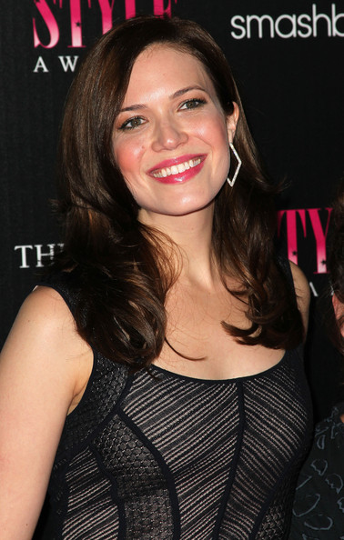 Mandy Moore Long Side Part