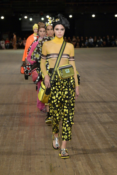 Kendall Jenner at Marc Jacobs