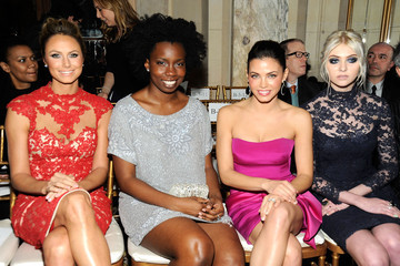 Stacy Keibler Jenna Dewan-Tatum Marchesa - Front Row - Fall 2012 Mercedes-Benz Fashion Week