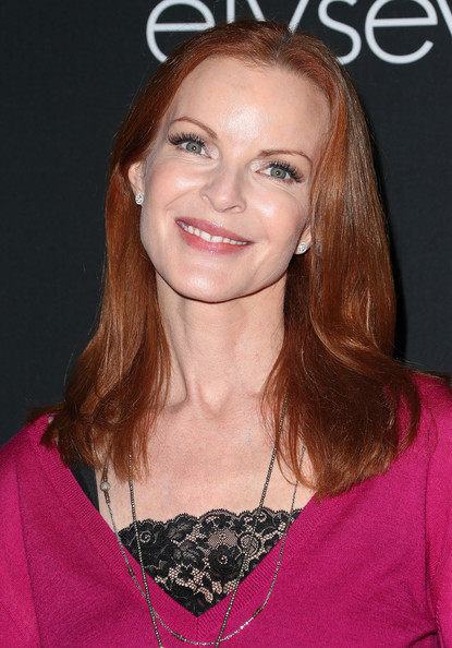 Marcia Cross Long Straight Cut