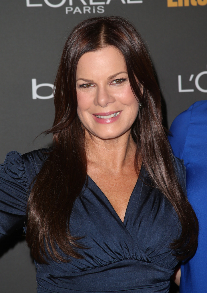 marcia gay harden long center part long hairstyles