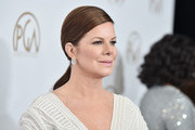 Marcia Gay Harden Ponytail
