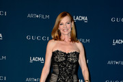 Marg Helgenberger Strapless Dress