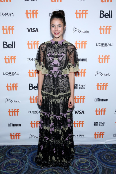 Margaret Qualley Embroidered Dress