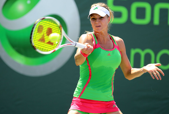 Maria Kirilenko Athletic Top