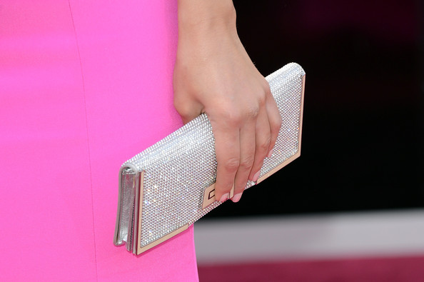 Maria Menounos Oversized Clutch