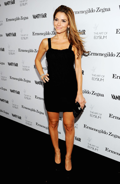 Maria Menounos Little Black Dress