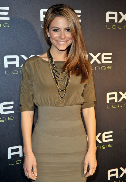 Maria Menounos Layered Gold Necklace