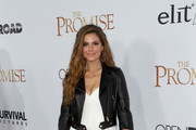 Maria Menounos Leather Jacket