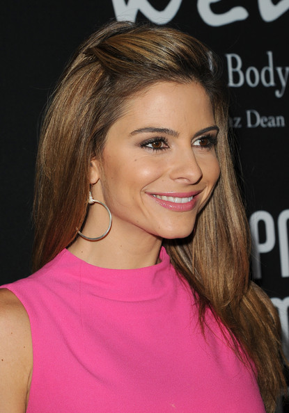 Maria Menounos Half Up Half Down