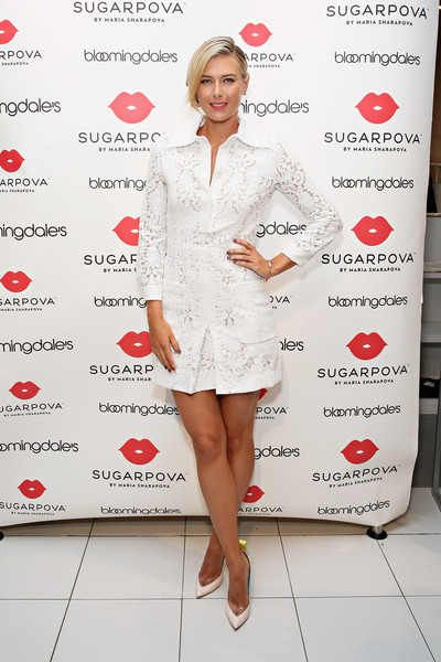 Maria Sharapova Shirtdress
