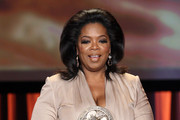 Oprah Winfrey Wears a Victoria Beckham Dress