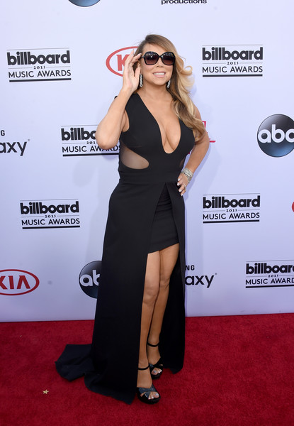 Mariah Carey Fishtail Dress