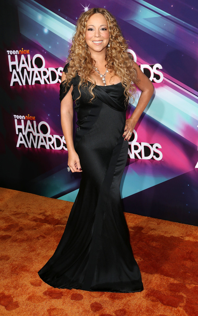 Mariah Carey Mermaid Gown Mariah Carey Looks Stylebistro