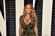 Mariah Carey Print Dress