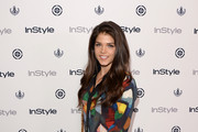 Marie Avgeropoulos Print Blouse