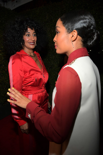 More Pics of Tracee Ellis Ross Box Clutch (1 of 19) - Clutches Lookbook - StyleBistro [red carpet,red,lady,fashion,event,fun,yara shahidi,tracee ellis ross,marie claires image makers awards,west hollywood,california,l]