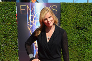 Mariel Hemingway Leather Clutch