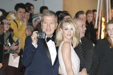 Mario Testino Rosie Huntington-Whiteley British Fashion Awards 2015 - Outside Arrivals