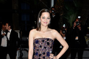 Marion Cotillard Strapless Dress