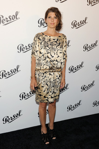 Marisa Tomei Print Dress